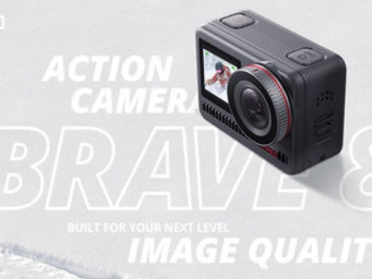 The new Brave 8 action cam
