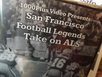 Football legends take on ALS in new DVD