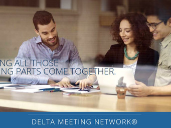 Delta Airlines offering an 'online meeting planning network' for meetings and events