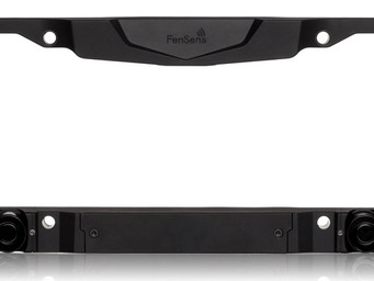First look: The FensSens Smart License Plate
