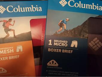 Columbia debuts new high tech underwear