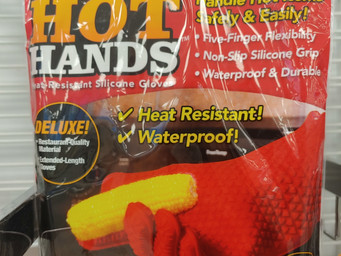 Review: Hot Hands heat resistant gloves