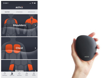 Working out with Activ5, the isometric strength training gadget