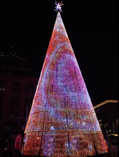 Some cities turning to Digital Christmas Trees and decorations