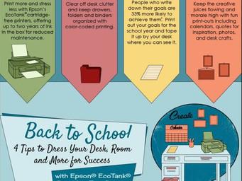 Epson's EcoTank Printers take us back to school