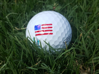 4th of July Golf with Tin Cup