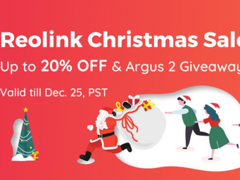 Reolink with great security cameras and Christmas deals
