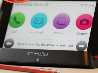 Grandparents can stay connected with GrandPad Powered by Consumer Cellular