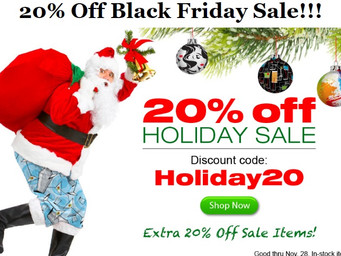 Loudmouth Golf Black Friday 20% off sale