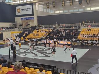 Kennesaw State Volleyball debuts new high tech Taraflex floor