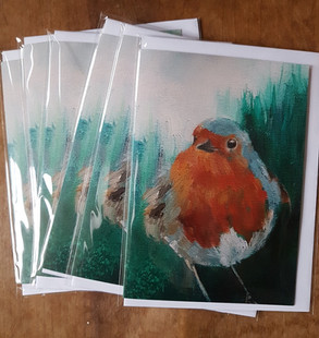 Wee Robin Redbreast cards