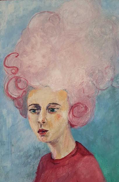 Floss (Little Big Hair portrait)
