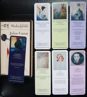 Reverse of bookmark designs
