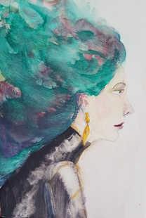 Aqua (Little Big Hair portrait)
