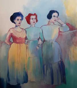 My Three Graces (Patience, Hope, Creativity)