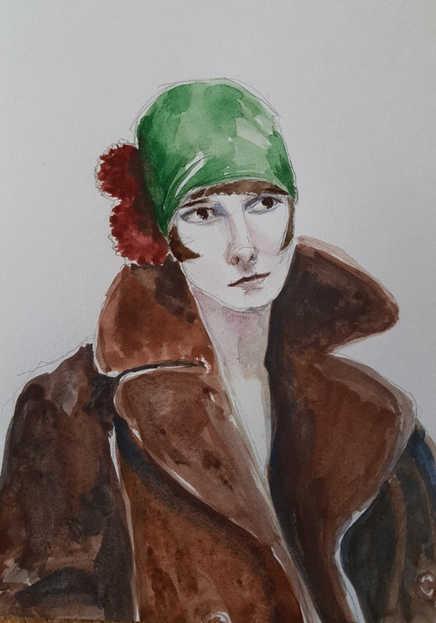 L.B. in Coat
