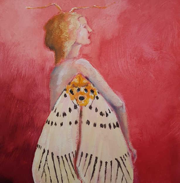 Tiger Moth Girl