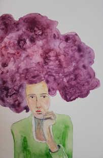 Magenta (Little Big Hair portrait)