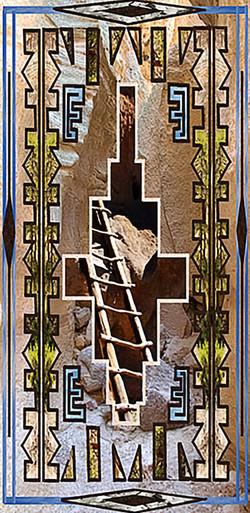 rocky path w ladder