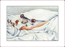in bed w mushrooms