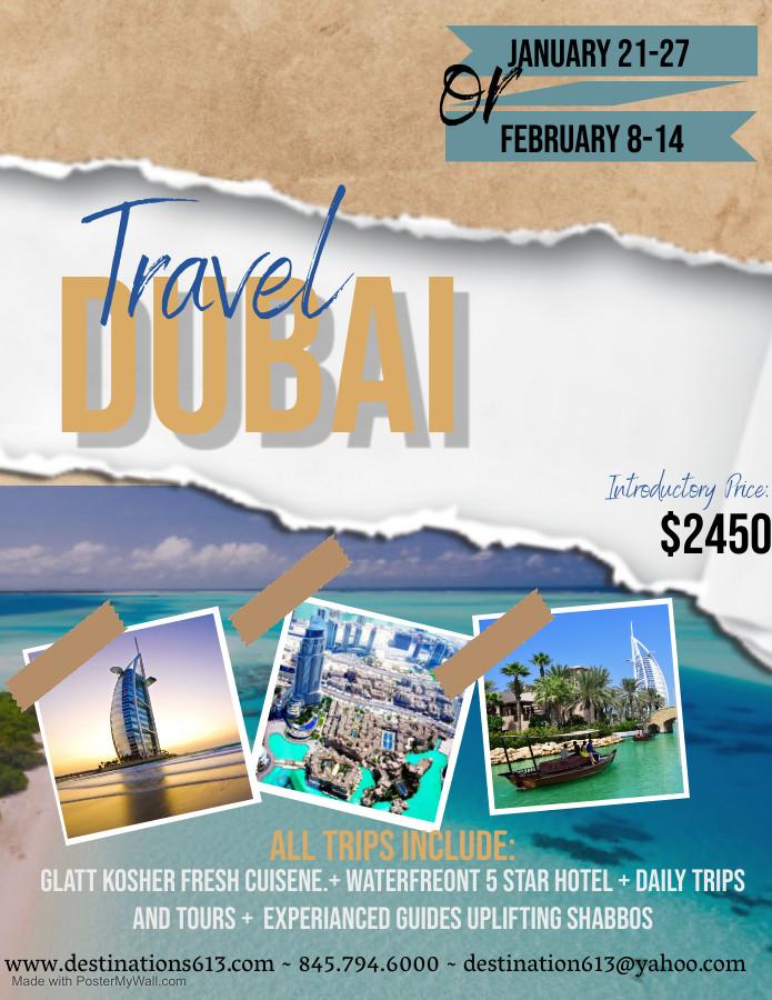 Copy of Dubai Travel Flyer Template - Ma