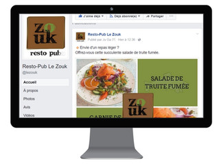 Gestion page FB