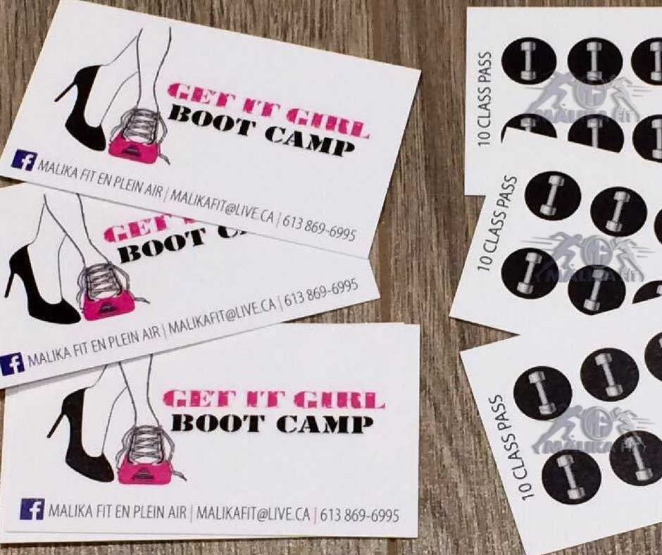 Carte de / Card with 20 sessions