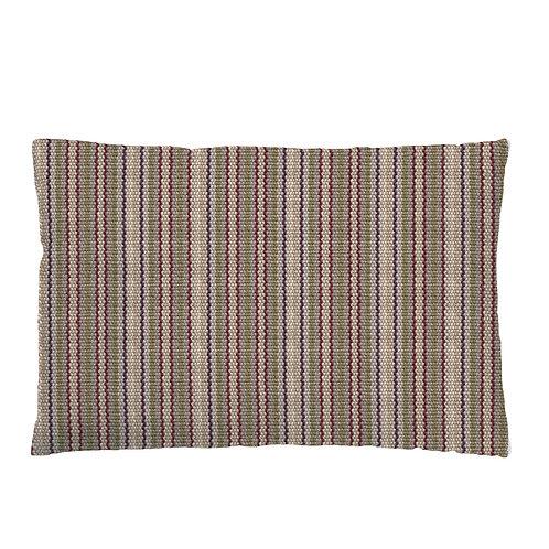 Carpet Stripe Cushion 02 Olive