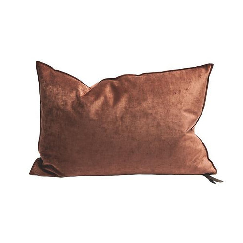 Terracotta Royal Velvet Cushion