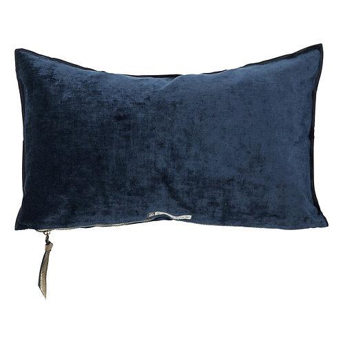 Bleu Nuit Royal Velvet Cushion