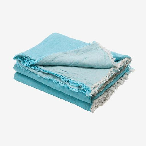 Turquoise Throw