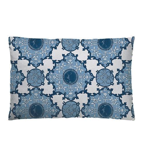 Amber Palace Cushion 02 Indigo