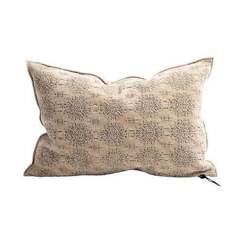 Nude Jacquard Kilim Cushion