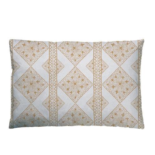 Quilt Cushion 07 Caramel