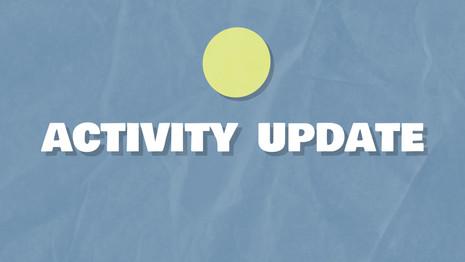 Activity Update CWS