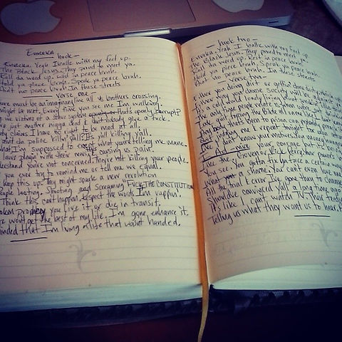 Instagram - Mid-day just finished writin