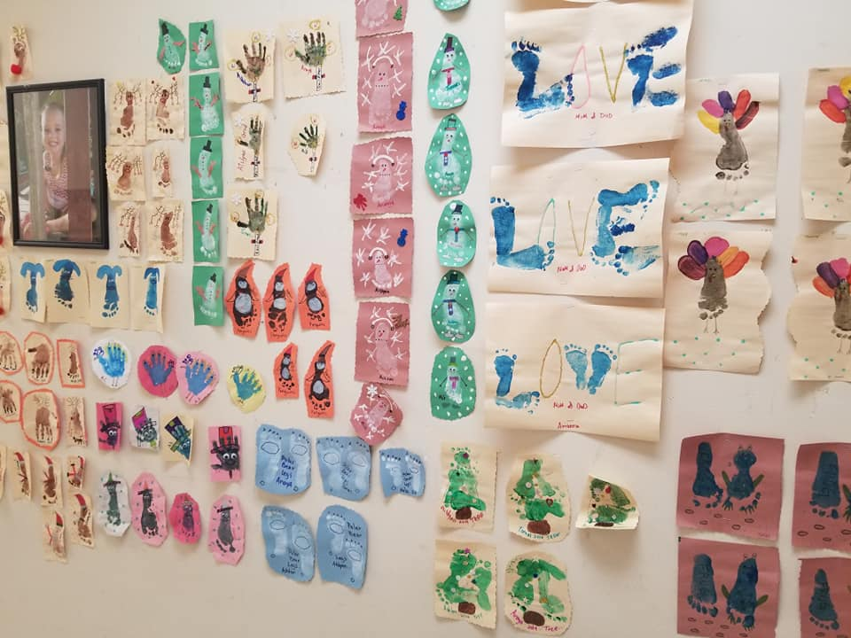 Infant Art Wall