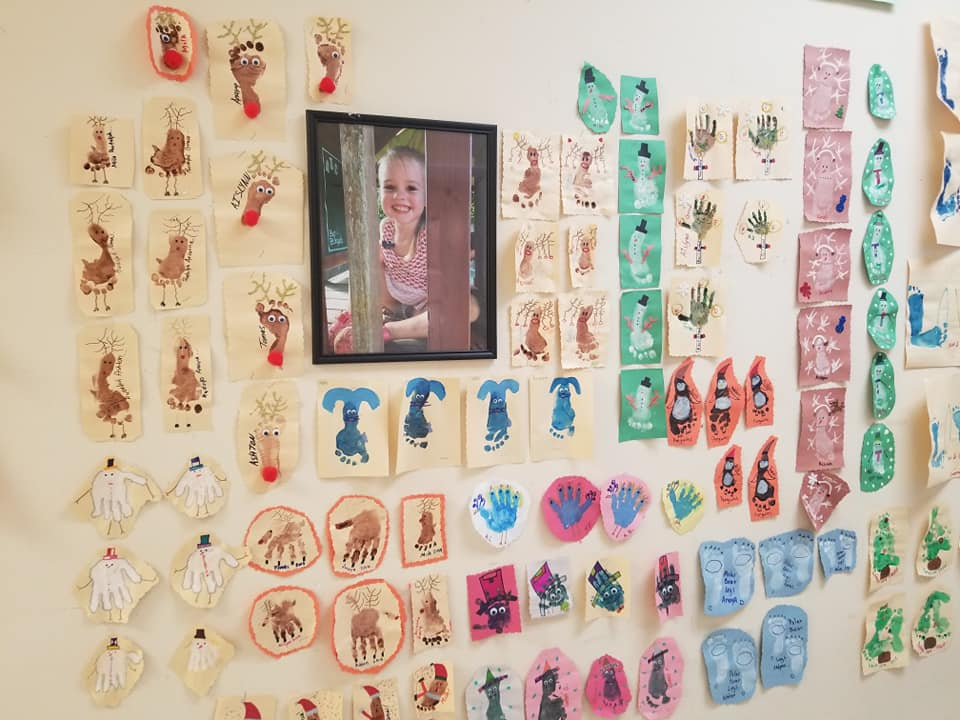 Infant Art Wall