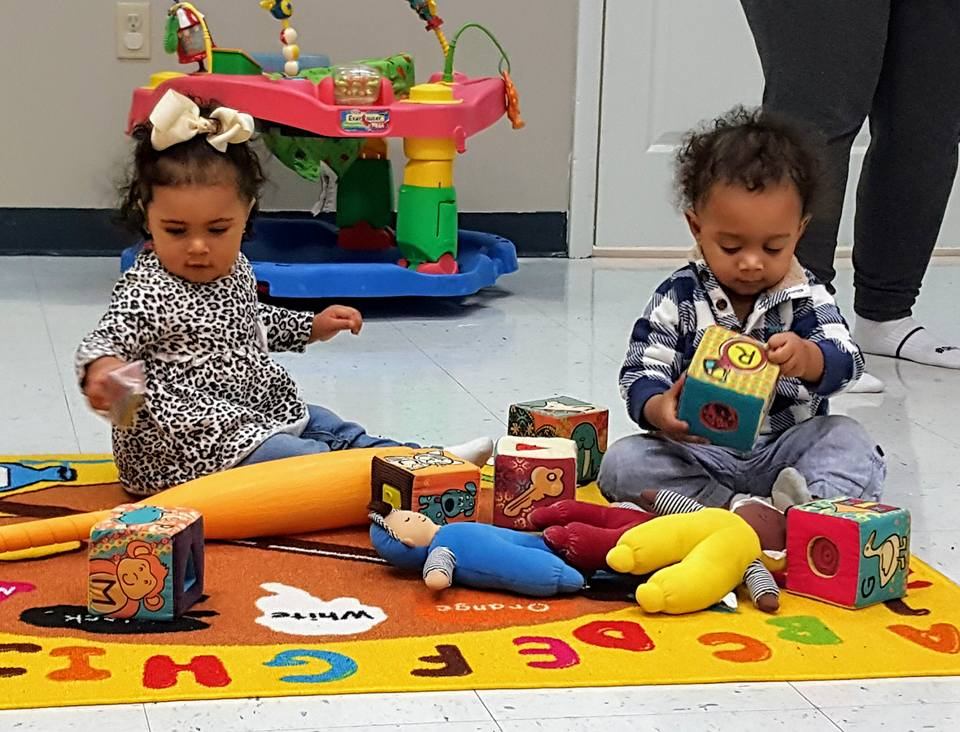 Mobile infants exploring