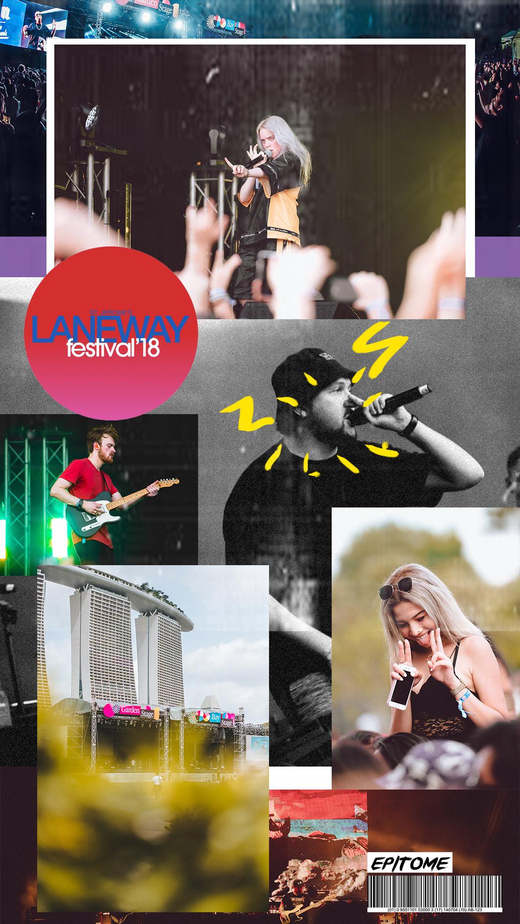 Laneway 2018 collage