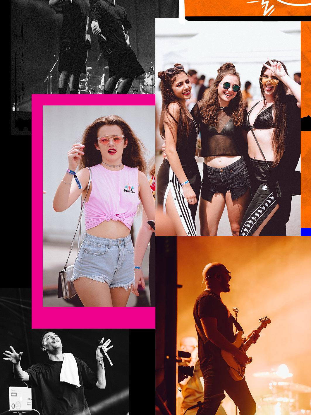 Laneway 2018 collage 2