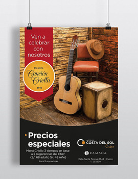 Poster - Costa del Sol Hoteles