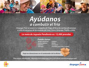 Mailing campaña - Despegar Perú