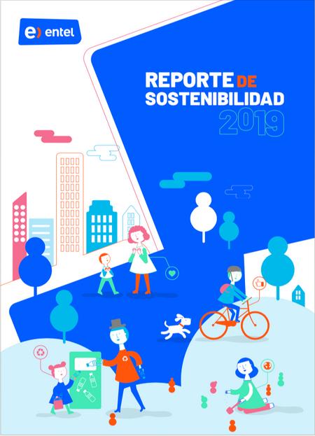 Portada ilustrada Reporte de sostenibili
