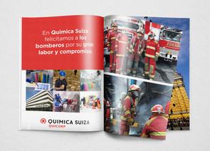 Aviso revista - Química Suiza