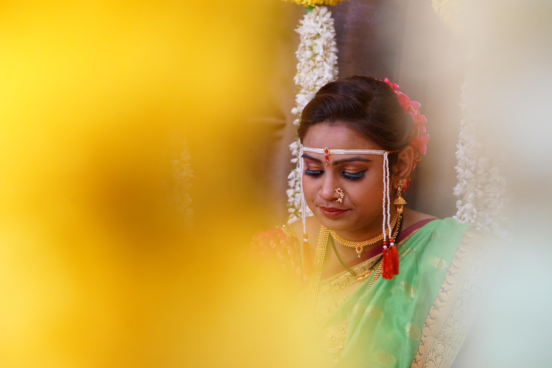 Mujer india tradicional