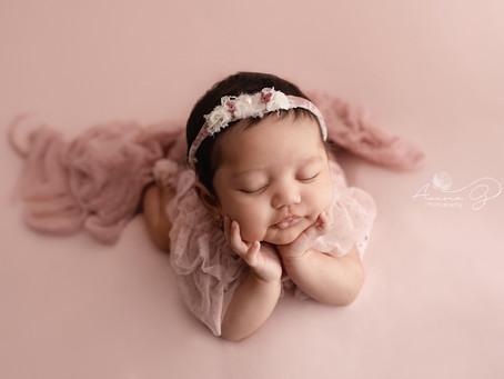 Sesión de recién nacido para bebes grandecitos