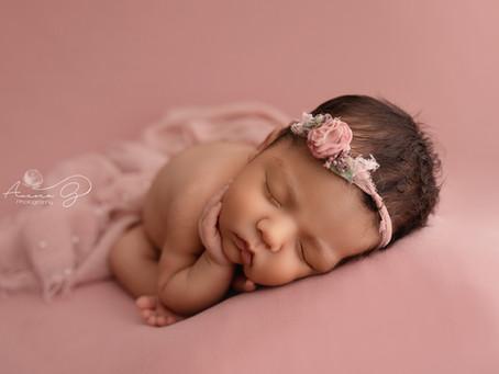 Como es el flujo de una sesión de fotos de recién nacido...