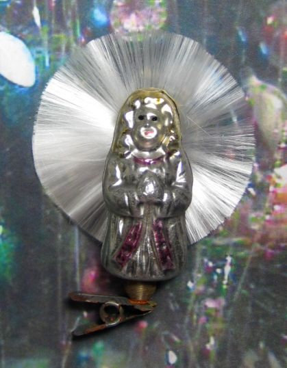 #BG-0152 - Angel w/ Spun Glass Halo