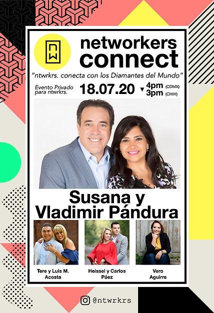 Connect Susana y Vladimir Pandura color.